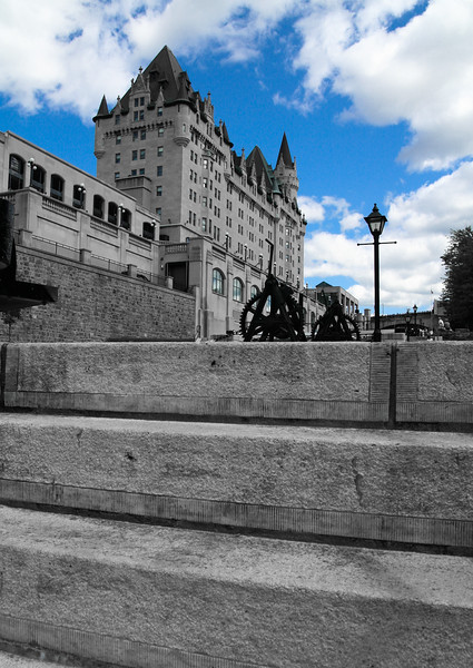 Blue Skies & Stone