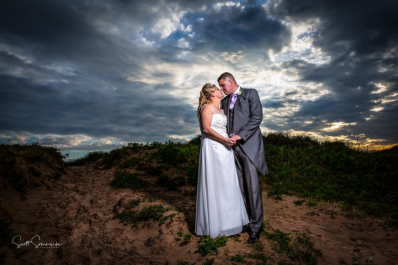 Alicia and John at The Best Western Glendower Hotel, St Annes