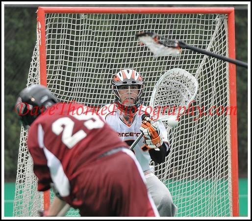 Lacrosse -Princeton vs Harvard / OT Lax Ball Boys April, 2009
