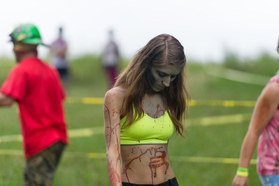 Jennifer Derby Zombie Run
