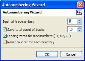 Numbering Settings