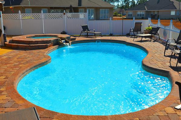 More Pool Installations - Pristine Pools
