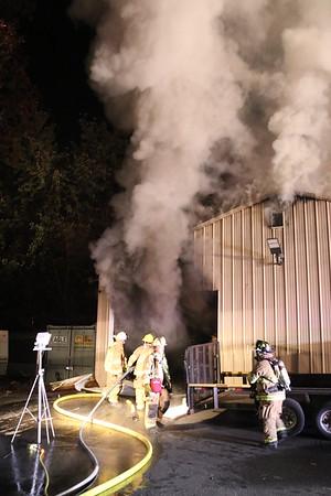 Commercial Building Fire - East St, Plainville, CT - 11/3/20