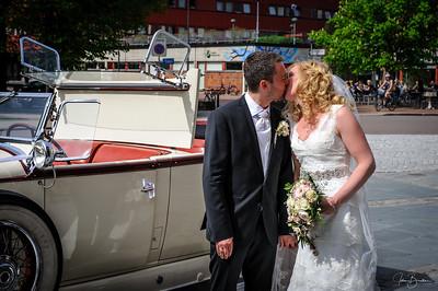 Camilla og Stians bryllup