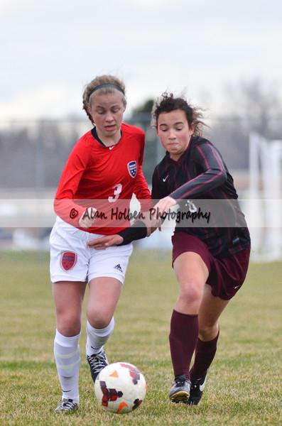 Ladies Varsity Soccer - Okemos at Mason