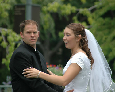 Curtis and Brittany - June 30, 2006