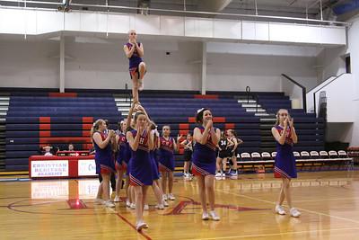 Junior High Cheerleaders