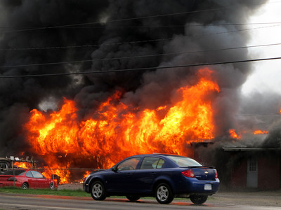 Affordable Towing Fire 3-22-2012