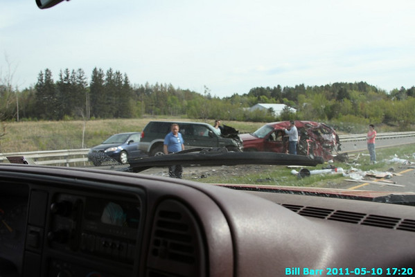 MVC Rt 924 Hazle Twp 05/10/11