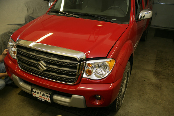 2010 Suzuki Equator Pick Up