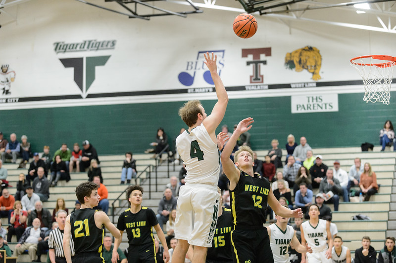 THS Boys Varsiry Basketball vs West Linn