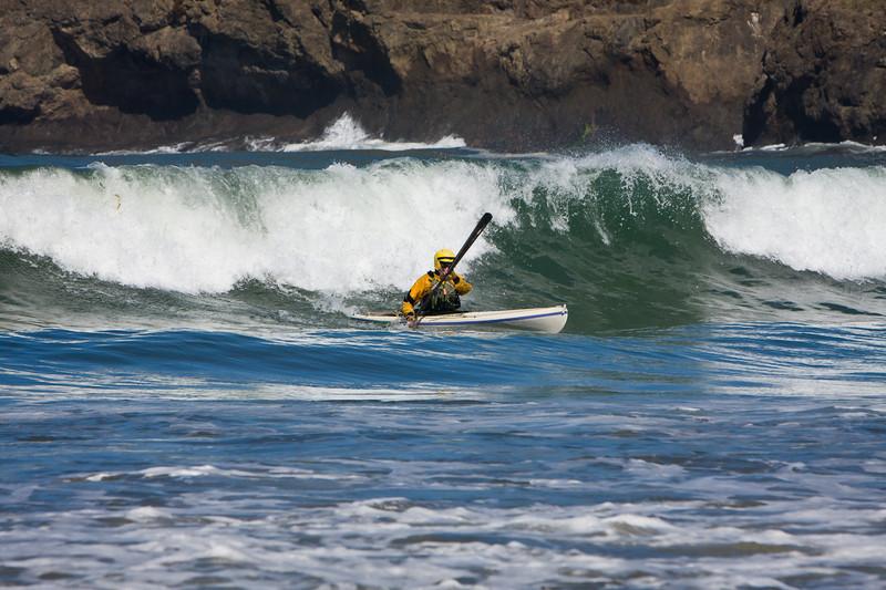 Caspar Surf Session