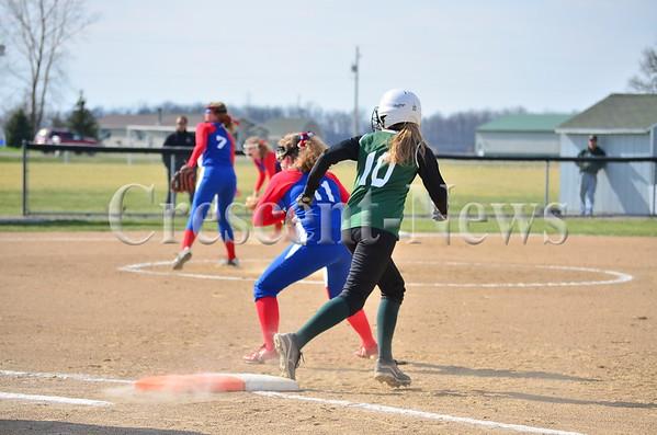 04-22-14 Sports Wayne Trace @ Tinora Softball