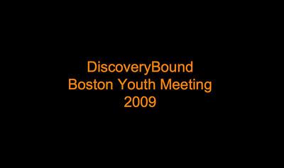 2009 Boston Youth Meeting