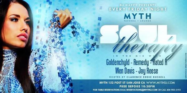 Soul Therapy @ Myth Taverna & Lounge 12.6.13