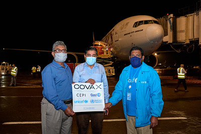 UNICEF-USG-COVAX-MODARNA Vaccine-Arrival-02-07-2021