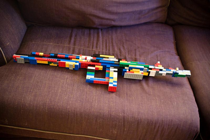 March 18th, 2009 - Joshua's Lego Rifle
