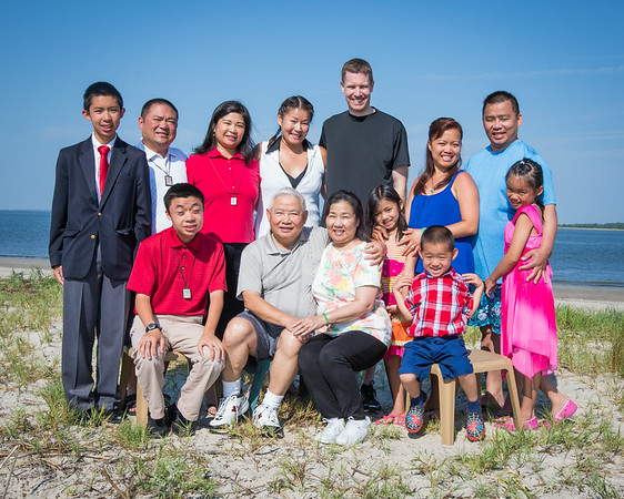 Tran Family  at Edisto