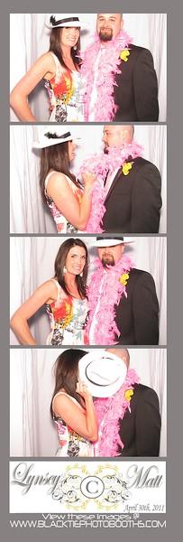 Lynsey and Matt Reception