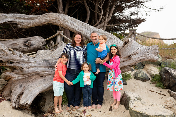 Fall Family Photos - Beach