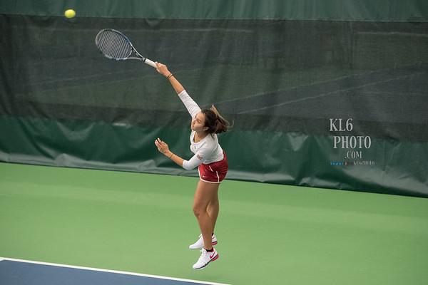 ISU Tennis vs Texas 04/02/17