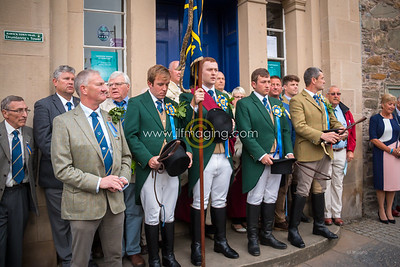 Common Riding Friday, 2018 - Snuffing & Auld Song