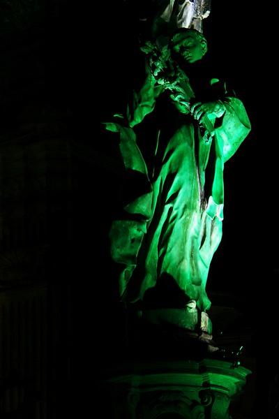 Osvětlení olomouckého náměstí 5.9.2013