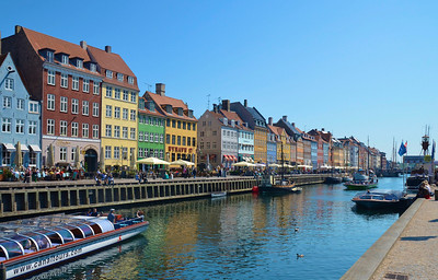 Nyhavn Street/Copenhagen/Denmark - May, 2013