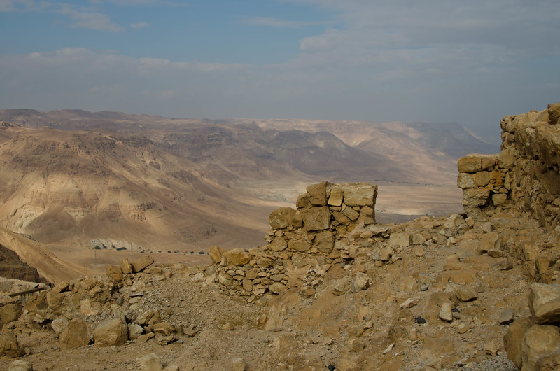 View from the top of Massada