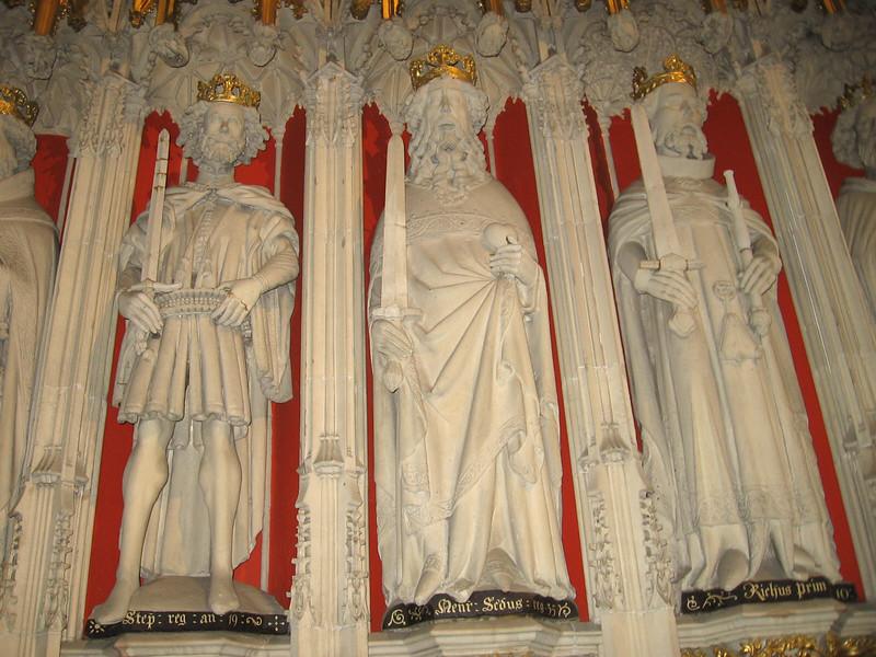 Choir Screen, York Minster (Stephen, Henry II, RichardI)