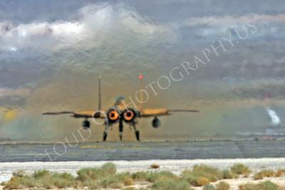 AFTERBURNER: US Air Force McDonnell Douglas F-15 Eagle Jet Fighter Afterburner Pictures