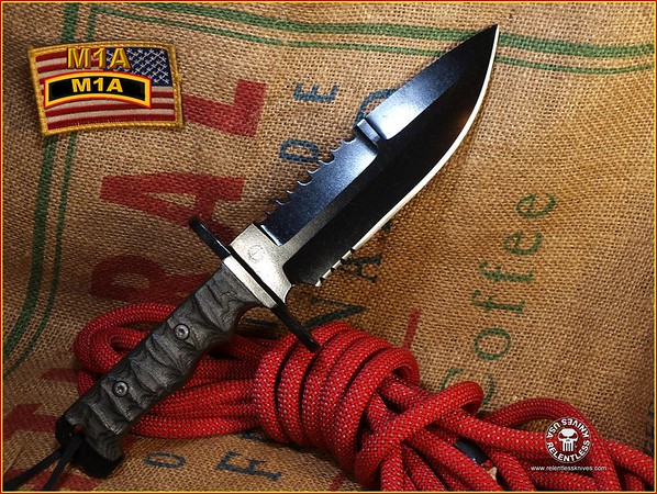 Relentless Knives M1A Spear Point 0F3100007C2534747 complete