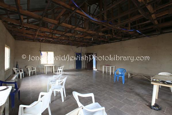 NIGERIA, Abuja, Jikwoyi. Community building, Ghihon Hebrews' Synagogue (8.2015)