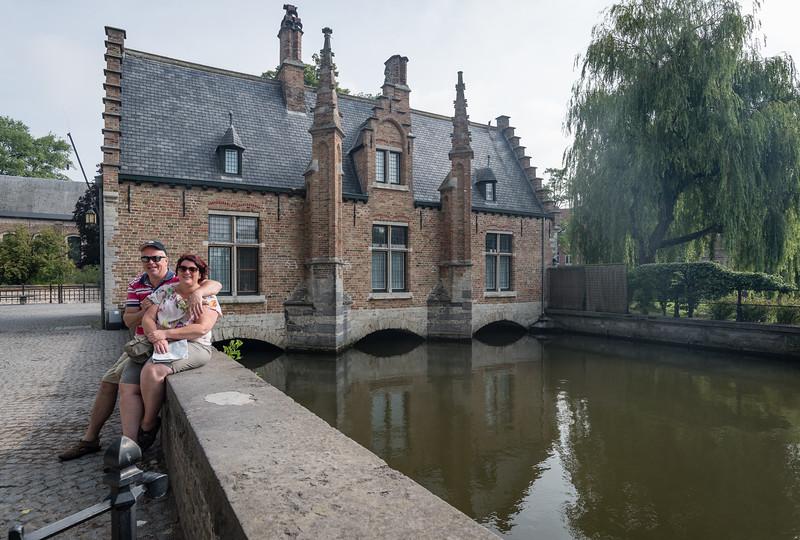Day 4 - Tonny & Jean Pierre in Brugge, July 7th