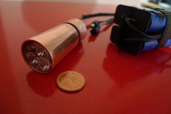 LED Bike light project
