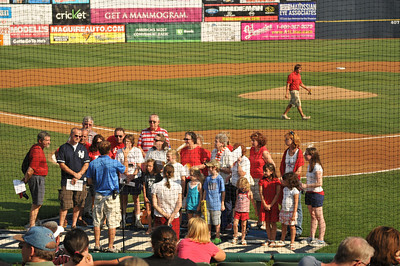 St Paul's Choir at Trenton Thunder