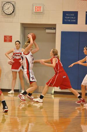 Var Girls Basketball vs Crete 2/17/09