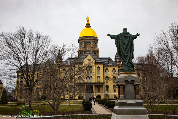 South Bend, Indiana - Notre Dame University
