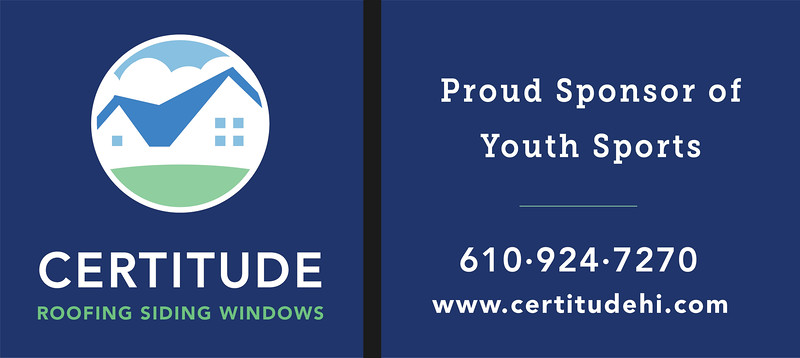 Great Valley vs Phoenixville Football...Sponsored by CERTITUDE ROOFING & SIDING