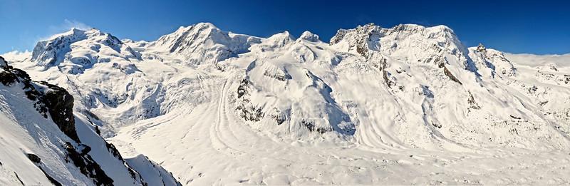 Swiss Alps Mountain Peaks