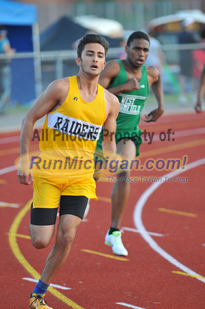 400 Meters - 2012 Oakland County Track Meet