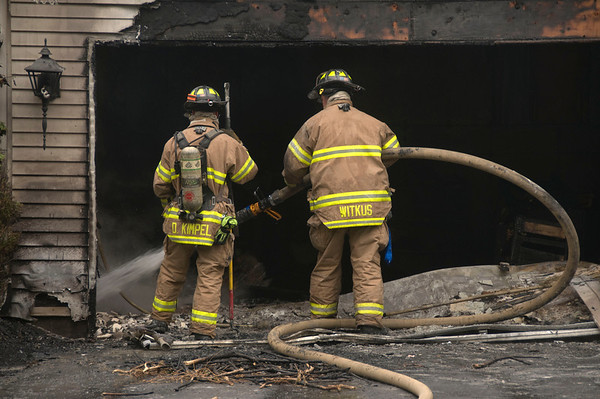 Fox River Grove box alarm - July 02, 2009 - Residential Fire