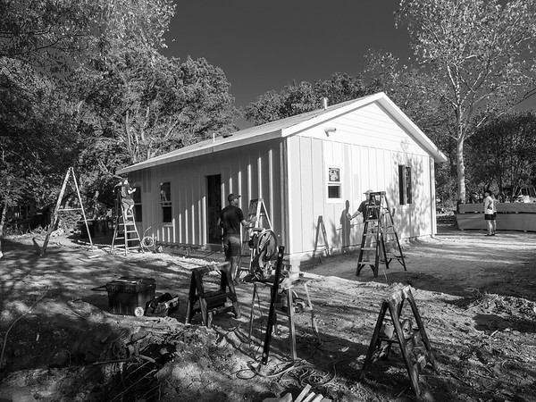 9/18 - Insulation and Exterior Paint (Mono)