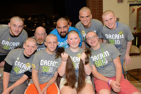BBA Braves The Shave photos by Gary Baker