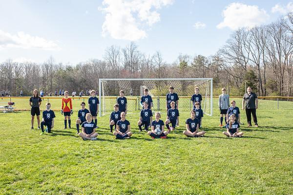 Middle School Boys' Soccer 2021