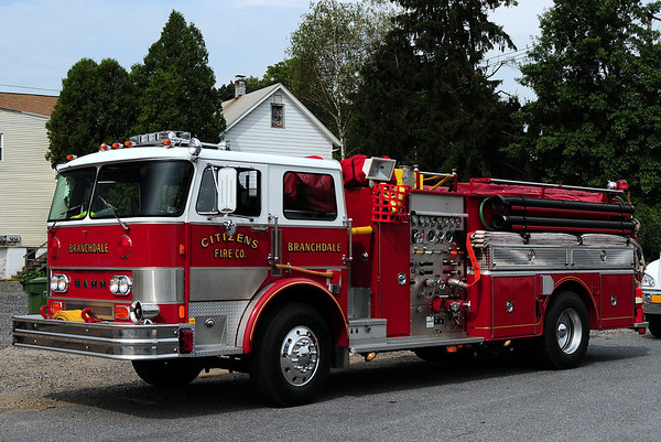 2012 Schuykill County parade hosted by The Pine Grove Fire Dept