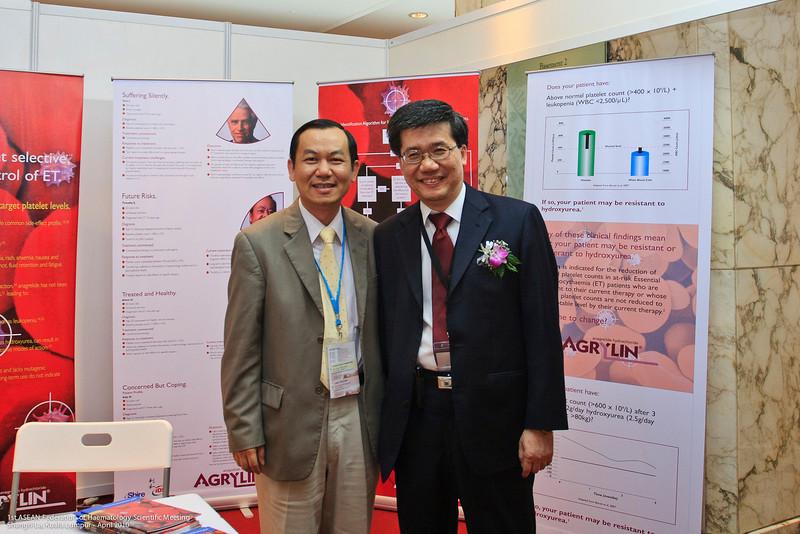 Mr WF Lam and Dr Ng Soo Chin