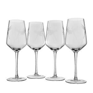 Stemmed Dragonfly Wine Glasses