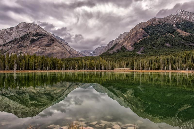 Buller Pond Reflections