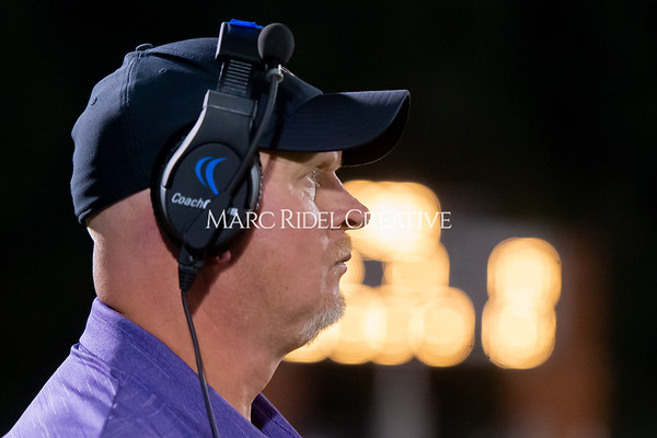 Broughton Varsity football at Southeast Raleigh. October 4, 2019. D4S_5126